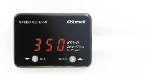 PIVOT ( ピボット ) スピードメーターV (赤表示) SML-V