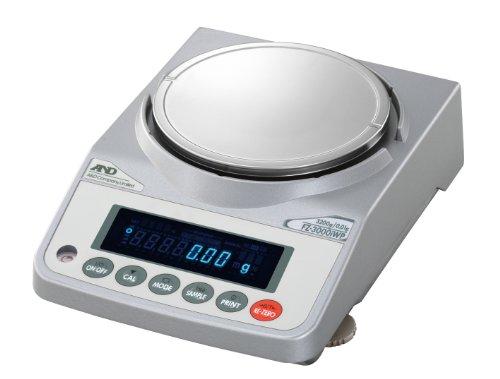 A&D 校正用分銅内蔵防塵・防水汎用天びん FZ-3000iWP