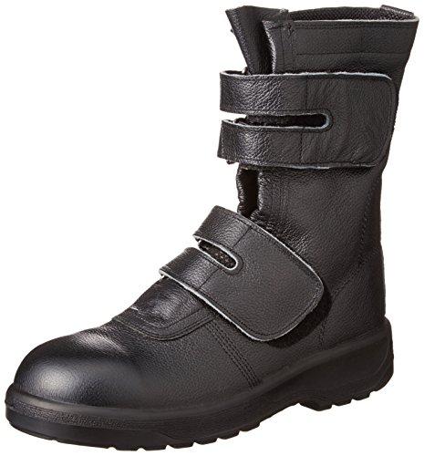 [エンゼル] ポリウレタン2層底安全靴 マジック AG609 AGシリーズ 6B023 ブラック ブラック JP JP26(26cm)