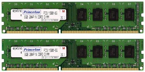 プリンストン DOS/V デスクトップ用メモリ 16GB(8GB×2枚組) PC3-12800(DDR3-1600) 240pin DIMM PDD3/1600-8GX2