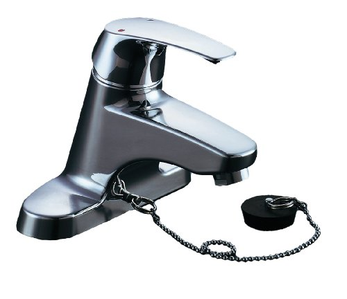 LIXIL(リクシル) INAX 洗面用 台付 シングルレバー混合水栓 ソフトシングル ゴム栓式 RLF-403