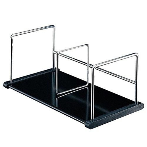 プラス 本立 A型 本立仕切棒 スライド式:1本 89-270 ブラック