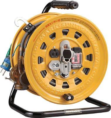 ハタヤ(HATAYA) 屋内用マルチテモートリール(漏電遮断器付)コードリール GBM-130K