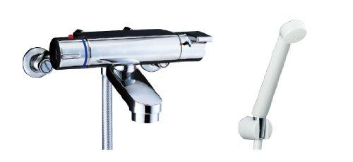 LIXIL(リクシル)INAX サーモスタット付シャワーバス水栓 ヴィラーゴ エコフルスプレーシャワー BF-2147TKSD