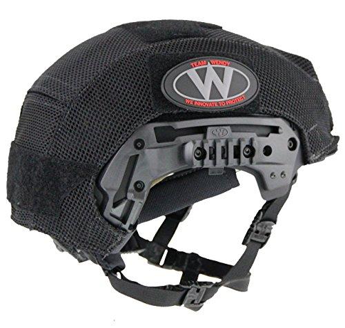 TEAMWENDY(チームウェンディ) EXFIL LTP/カーボン用 メッシュヘルメットカバー 71MHCBK
