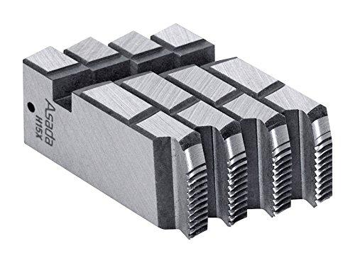 アサダ 89211 管用テーパーねじ用チェーザ AT1/2-3/4 自動・手動ダイヘッド用
