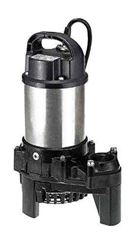 ツルミ 樹脂製汚水用水中ポンプ (三相200V) 50HZ 40PSF2.25