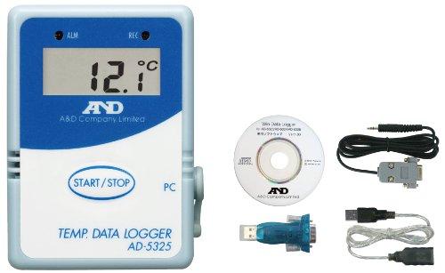 A&D 温度データーロガー AD-5325SET
