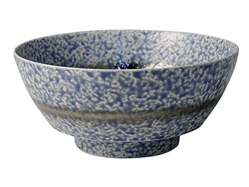 有田焼 陶悦窯 究極の ラーメン鉢 青吹プラチナ帯 R0146:ユニオン
