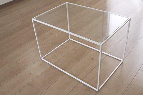 北新トレイテーブル 600×400WHガラス HWG-045