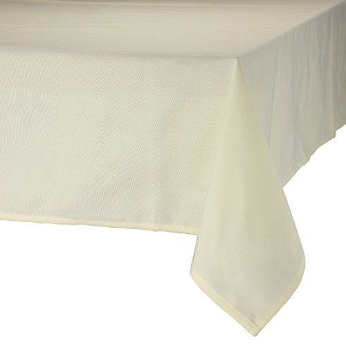 MAJEST(マジェスト) テーブルクロス 正方形230cmx230cm 布地 アイボリー 無地 繋なし 吸水タイプ
