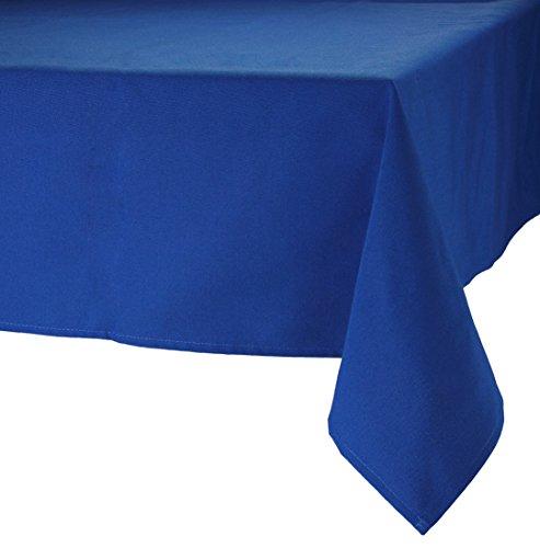 MAJEST(マジェスト) テーブルクロス 長方形190cmx250cm 布地 ロイヤル・ブルー 無地 繋なし 吸水タイプ