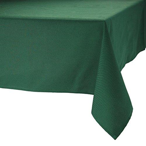 MAJEST(マジェスト) テーブルクロス 長方形190cmx250cm 布地 フォレストグリーン 無地 繋なし 吸水タイプ
