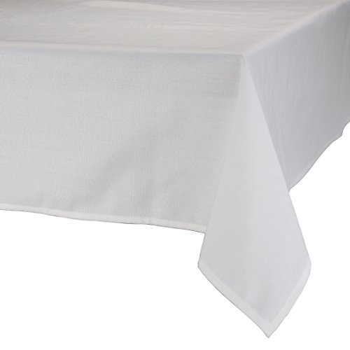 MAJEST(マジェスト) テーブルクロス 長方形190cmx260cm 布地 ホワイト 無地 繋なし 吸水タイプ
