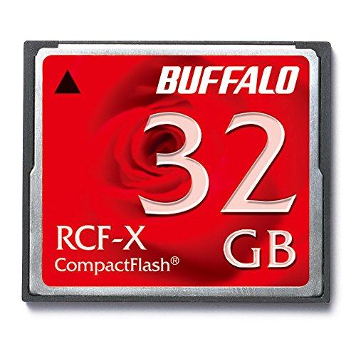 BUFFALO コンパクトフラッシュ32GB RCF-X32G