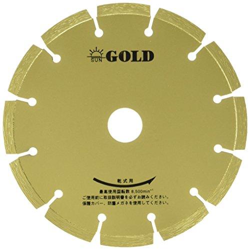 旭ダイヤモンド工業 ゴールド 7インチx2.2x25.4