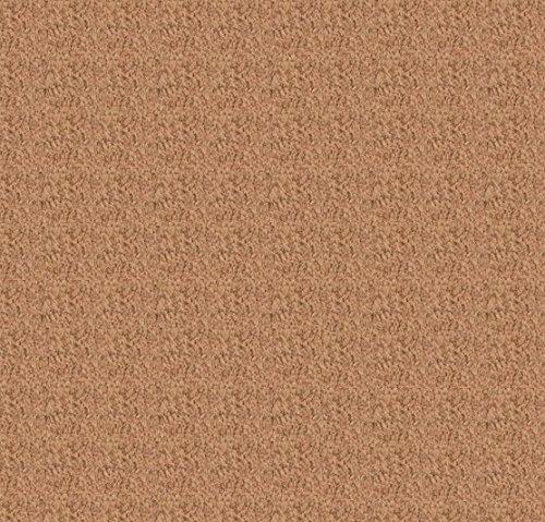 モコラグストライプ丸型 カラー(ベージュ) 171-8152A1BE