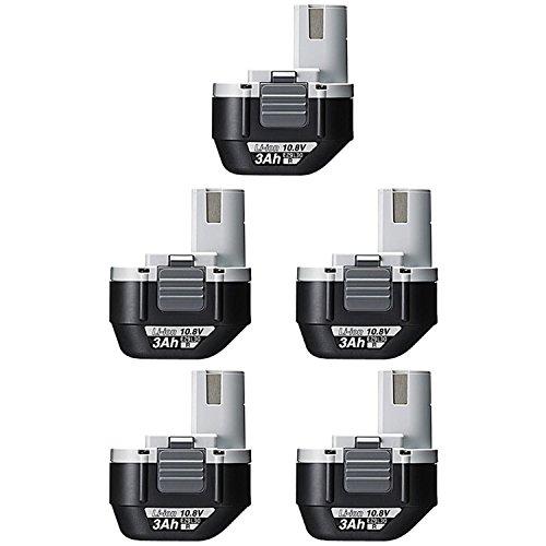 パナソニック(Panasonic) 10.8V電池パック 【5台お買い得セット】 EZ9L31 【純正品】