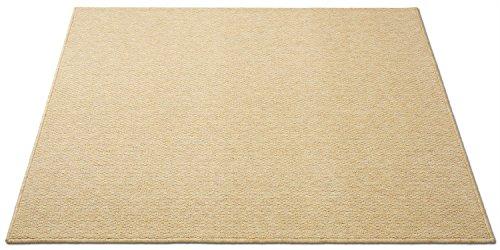 防音対策マット 電子ピアノ ゴールドベージュ110×140cm