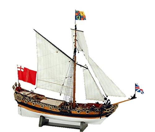 ウッディジョー 1 64 『4年保証』 組立キット チャールズヨット 直営限定アウトレット 木製帆船模型