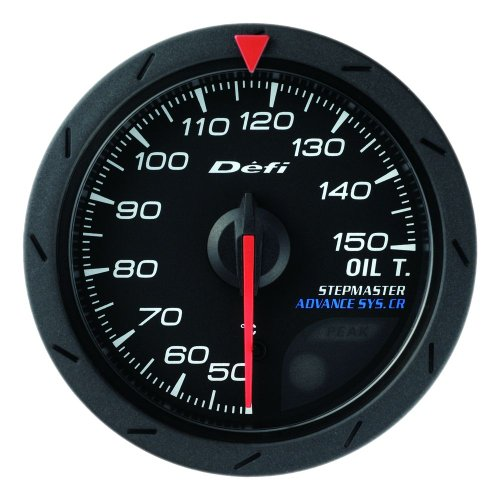 日本精機 Defi (デフィ) メーター【Defi-Link ADVANCE CR】油温計 52φ (ブラック) DF08302