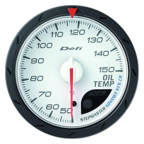日本精機 Defi (デフィ) メーター【Defi-Link ADVANCE CR】油温計 60φ (ホワイト) DF09101