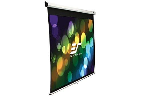 エリートスクリーン プロジェクタースクリーン マニュアルSRM 100インチ(4:3) マックスホワイト素材 ホワイトケース M100NWV1-SRM
