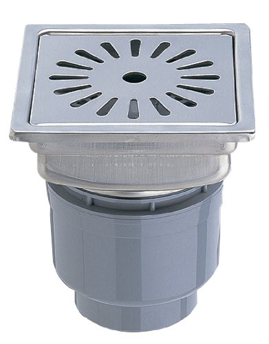 三栄水栓 【浴室用排水ユニット】 一辺148mm H902-150