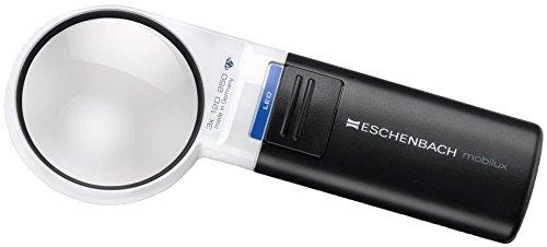 ESCHENBACH 手持ちルーペ モビラックスLED 倍率3倍 LEDライト付き 1511-2