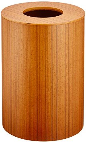 SAITO WOOD ごみ箱 ダストボックス ドーナツ蓋 L 952 9L チークグレイン
