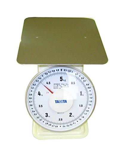 タニタ 上皿自動 ハカリ(平皿タイプ)5kg(2093)