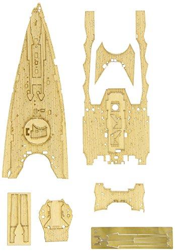 1/350 日本海軍 戦艦長門 昭和十六年 開戦時用 木製甲板 プラモデル用パーツ QG42