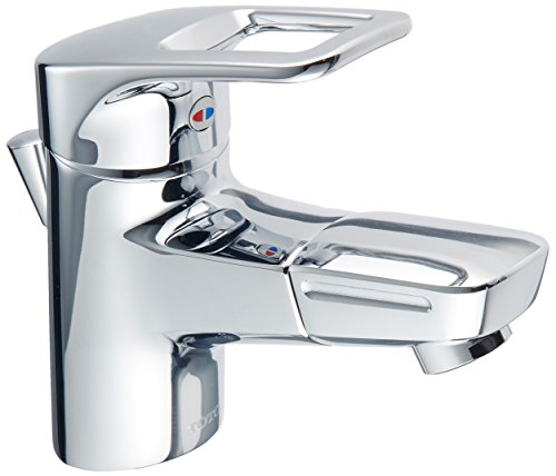 TOTO 洗面用水栓 シングル混合水栓 TLHG31DEF (吐水口回転式)