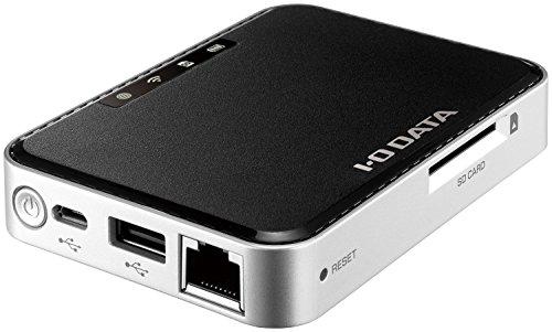 I-O DATA iPhone対応 Wi-Fi SDカードリーダー スマホ充電付 WFS-SR01