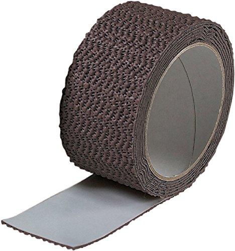 オンラインショッピング カーボーイ 返品交換不可 きれいにはがせる すべり止めテープ こげ茶 5cmX2m