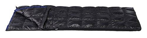 イスカ(ISUKA) 寝袋 ピルグリム 180 ブラック [最低使用温度15度]