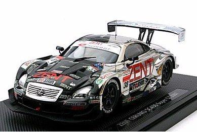 EBBRO 1/43 ゼント セルモ SC430 スーパーGT500 2007 #38 ブラック/シルバー