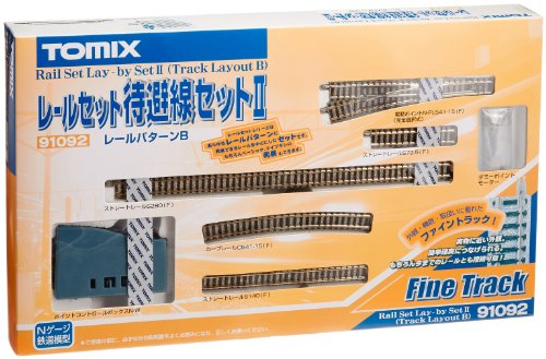 TOMIX Nゲージ レールセット 待避線セットII Bパターン 91092 鉄道模型 レールセット