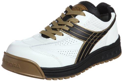 [ディアドラユーティリティ] DIADORA UTILITY 作業靴 スニーカー ピーコック PC12 PC12 ホワイト&ブラック(ホワイト&ブラック/27.0)