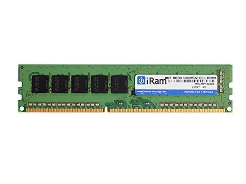 iRam Technology MacPro用メモリ DDR3/1333 8GB 240pin ECC U-DIMM IR8GMP1333D3