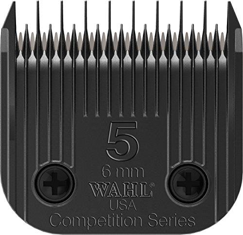 日本ウォール WAHL ペット用トリミングバリカン KM5 KM10 用替刃 6mm スキップコース 2371-500
