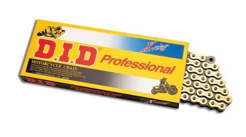 D.I.D(大同工業)バイク用チェーン 軽圧入クリップジョイント付属 428VX-122FB STEEL(スチール) X-リング 二輪 オートバイ用