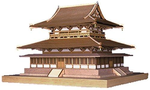 ウッディジョー 1/150 法隆寺 金堂 木製模型 組立キット