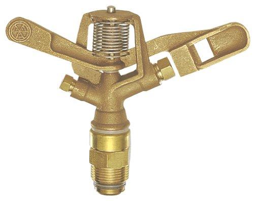 三栄水栓 【360度散水式スプリンクラー上部】 フルサークルスプリンクラー上部 青銅製 口径4.8×3.2 C53F-20