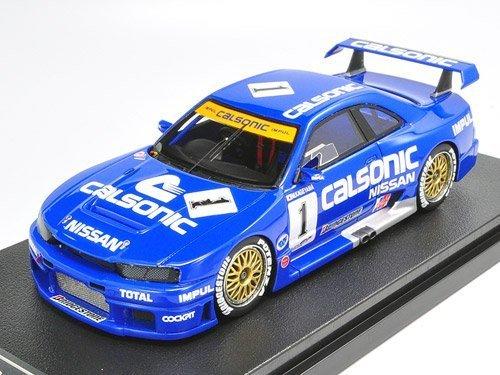EBBRO 1/43 カルソニック スカイライン GT-R JGTC 1995 No.1富士 ブルー