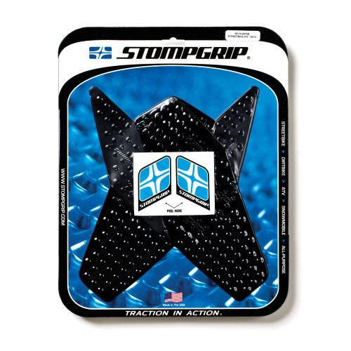 STOMPGRIP(ストンプグリップ) トラクションパッド タンクキット VOLCANO ブラック YZF-R6(08-12) 55-1010B