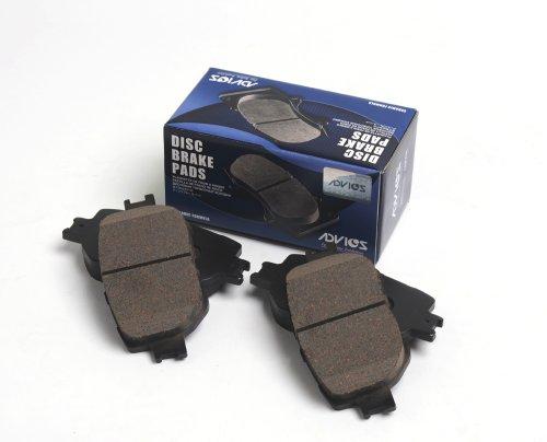 アドヴィックス ( ADVICS ) ディスクパッド アテンザ 4枚/キット SN599P ブレーキパッド