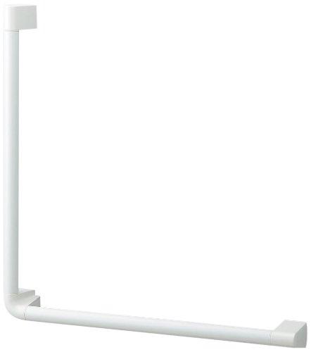 LIXIL(リクシル) INAX アクセサリーバー L型 ディンプルタイプ ホワイト NKF-520(500×500)/WA