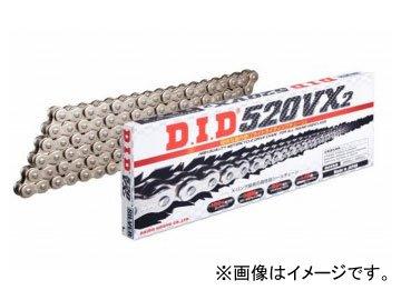 D.I.D(大同工業)バイク用チェーン カシメジョイント付属 428VX-134ZB S&S(シルバー) X-リング 二輪 オートバイ用
