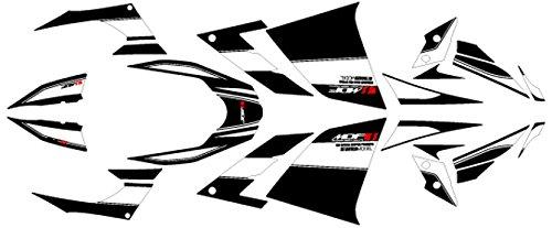エムディーエフ(MDF) グラフィックキット コンプリートセット アタッカーモデル ブラック Ninja250(13-) M13NIN25-A-BK-ALL